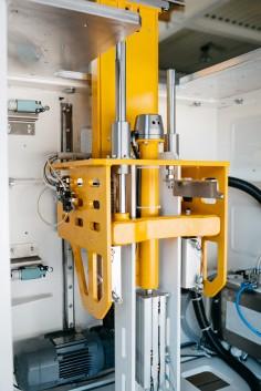 Sondermaschinen Abnabelstation